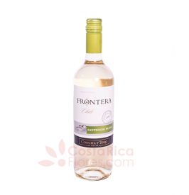 Bottle of White Wine - Frontera