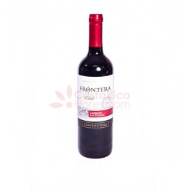 Bottle of Red Wine - Frontera