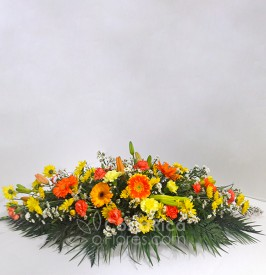 Multi-flowered Condolense Arrangement