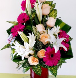 Lovely floral arrangement